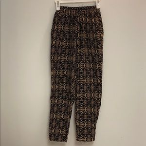 Pattern Baggy Pants